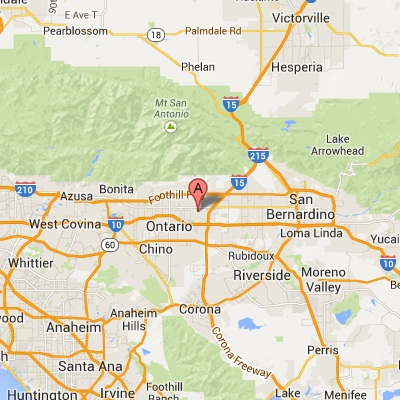 Map California Cambridge College - Us map with california