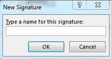how to add logo to email signature in outlook 2010