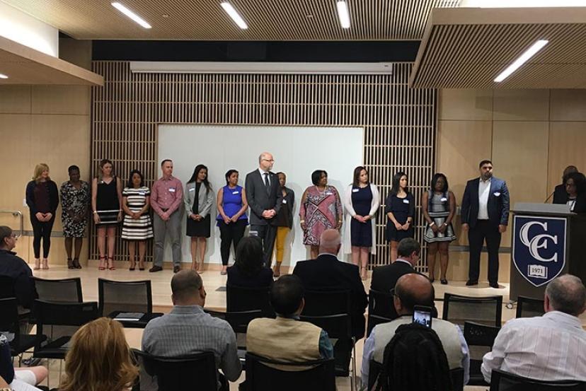 Sigma Beta Delta honor society at Cambridge College