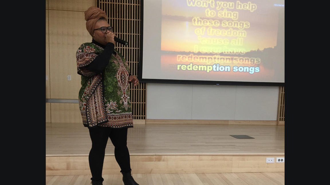Black History Month Poetry Slam at Cambridge College