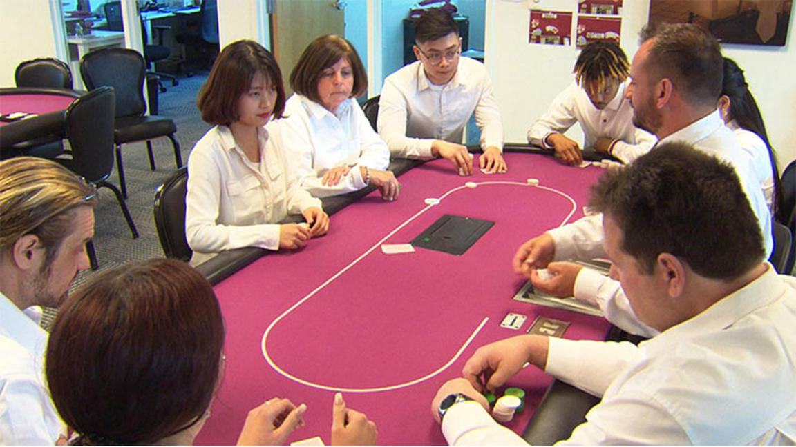 Students training for careers at Encore Boston Harbor