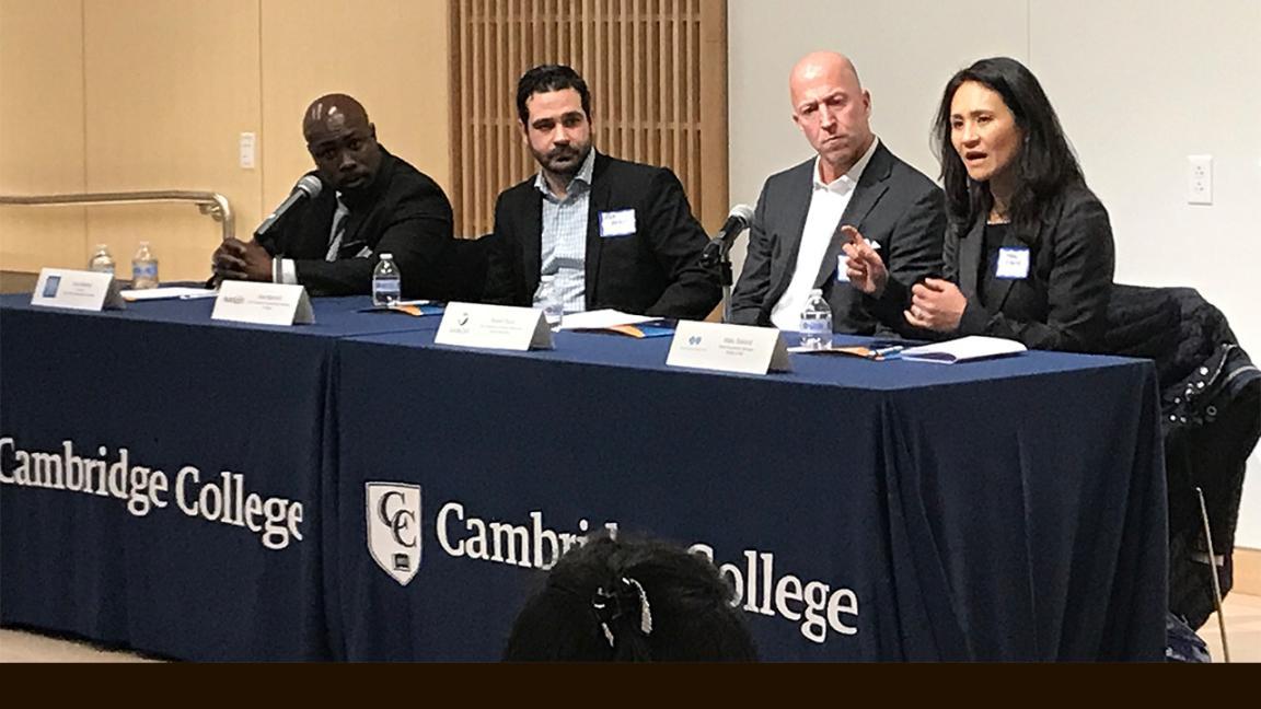 alumni and student career panel