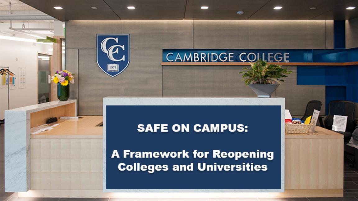 Cambridge College lobby